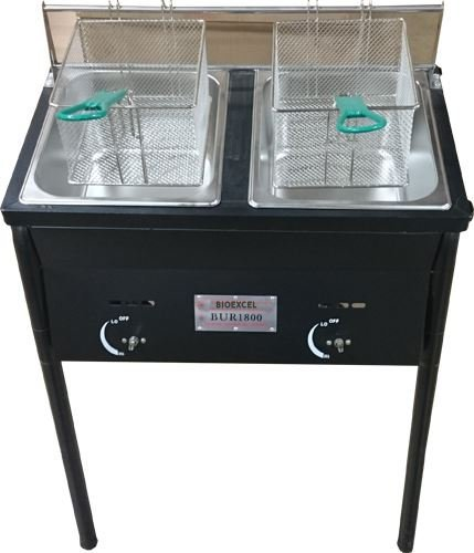 Ballington-Outdoor-Two-Tank-Fryer-2-Baskets-Stainless-Steel-Oil-Tank-0-1