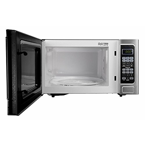 Bella-11-cu-ft-1000-Watt-Countertop-Microwave-Oven-in-Platinum-with-Stainless-Steel-0-1