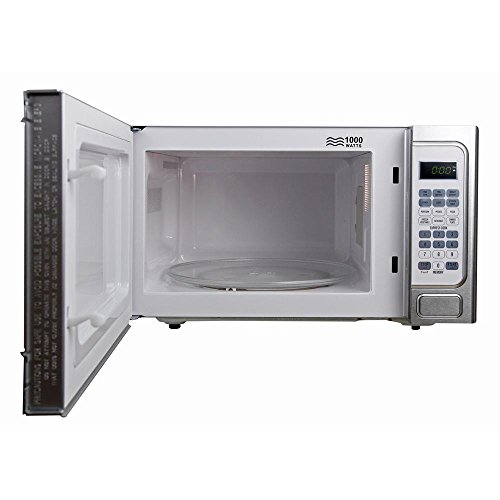 Bella-11-cu-ft1000-Watt-Countertop-Microwave-Oven-in-White-with-Stainless-Steel-0-2