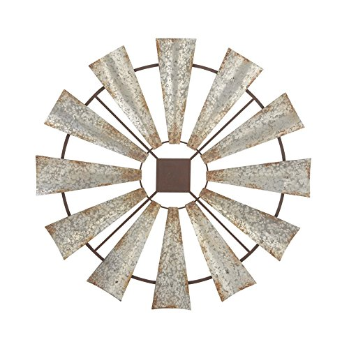 Benzara-Farmhouse-Styled-Windmill-Wall-Decor-Large-0
