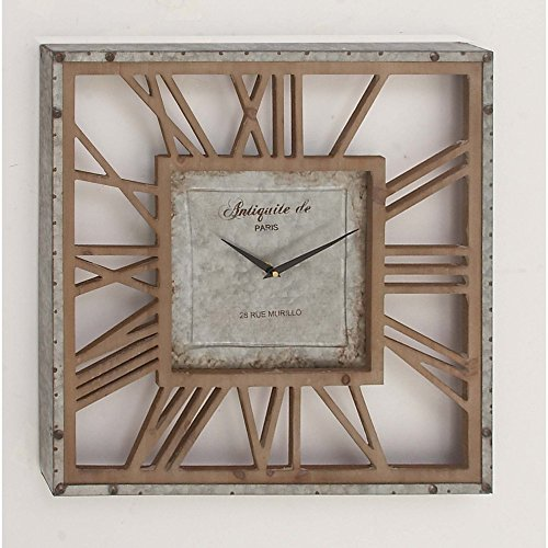 Benzara-Overside-Square-Shaped-Wall-Clock-0