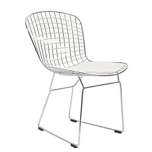Bertoria-Wire-Dining-Chair-White-Seat-0-1