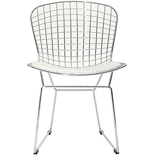 Bertoria-Wire-Dining-Chair-White-Seat-0