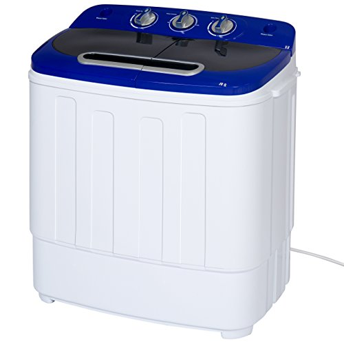 Best-Choice-Products-Portable-Compact-Mini-Twin-Tub-Washing-Machine-and-Spin-Cycle-w-Hose-13lbs-Capacity-0