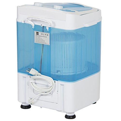 Best-Choice-Products-Portable-Mini-Washing-Machine-Spin-Cycle-W-Basket-Drain-Pipe-66lbs-Capacity-BlueWhite-0-1