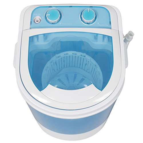 Best-Choice-Products-Portable-Mini-Washing-Machine-Spin-Cycle-W-Basket-Drain-Pipe-66lbs-Capacity-BlueWhite-0-2