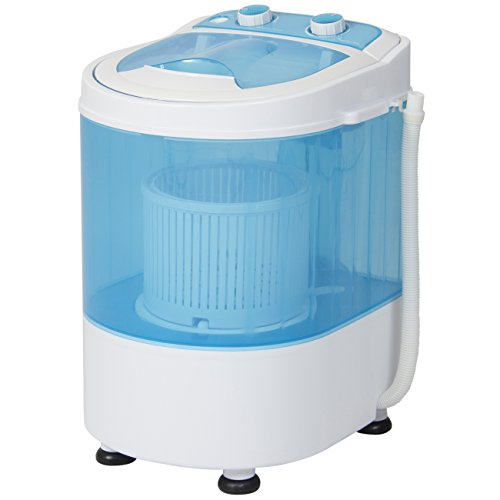 Best-Choice-Products-Portable-Mini-Washing-Machine-Spin-Cycle-W-Basket-Drain-Pipe-66lbs-Capacity-BlueWhite-0