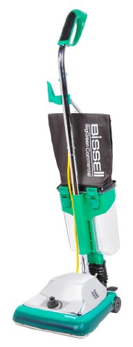 Bissell-BigGreen-Commercial-BG101DC-ProCup-Comfort-Grip-Handle-Upright-Vacuum-with-Magnet-870W-12-Vacuum-Width-0