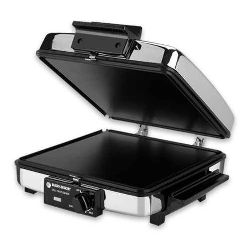 Black-And-Decker-G49TD-Sandwich-GrillWaffle-Baker-0