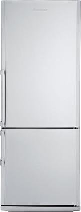 Blomberg-BRFB1452SSN-28-138-cu-ft-capacity-Bottom-Freezer-Refrigerator-With-Chrome-Coated-Wine-Rack-Bottle-Holder-Three-Safety-Glass-Shelves-Four-Door-Racks-Reversible-Door-and-In-Stainless-0