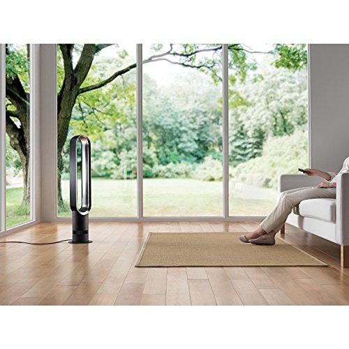 Blue-Air-Multiplier-AM07-Tower-Fan-Dyson-Bladeless-Remote-Complete-Set-w-Bonus-Premium-Microfiber-Cleaner-Bundle-0-0