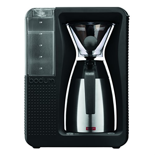 Bodum-BISTRO-Coffee-Maker-Automatic-Pour-Over-Coffee-Machine-with-Thermal-Carafe-Black-40-Ounce-0