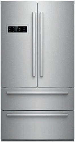 Bosch-4-Piece-Stainless-Steel-Kitchen-Package-With-B21CL80SNS-36-French-Door-Refrigerator-NGM5055UC-30-Gas-Cooktop-HBE5451UC-24-Single-Wall-Oven-and-SHXN8U55UC-24-Built-In-Dishwasher-0-0