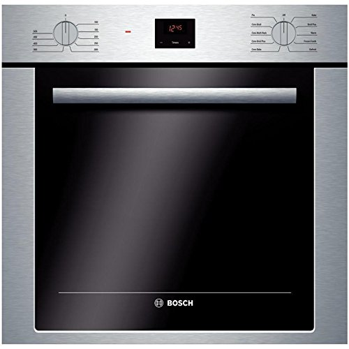 Bosch-4-Piece-Stainless-Steel-Kitchen-Package-With-B21CL80SNS-36-French-Door-Refrigerator-NGM5055UC-30-Gas-Cooktop-HBE5451UC-24-Single-Wall-Oven-and-SHXN8U55UC-24-Built-In-Dishwasher-0-1