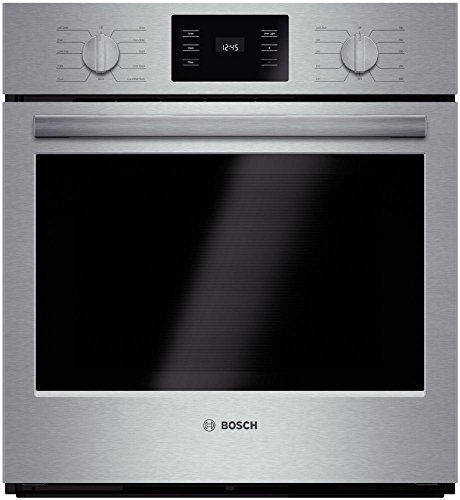 Bosch-4-Piece-Stainless-Steel-Kitchen-Package-With-B26FT80SNS-36-French-Door-Refrigerator-NGM5055UC-30-Gas-Cooktop-HBN5451UC-27-Single-Wall-Oven-and-SHXN8U55UC-24-Built-In-Dishwasher-0-1