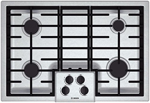 Bosch-4-Piece-Stainless-Steel-Kitchen-Package-With-B26FT80SNS-36-French-Door-Refrigerator-NGM5055UC-30-Gas-Cooktop-HBN5451UC-27-Single-Wall-Oven-and-SHXN8U55UC-24-Built-In-Dishwasher-0-2