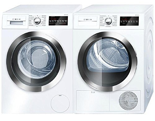 Bosch-800-Series-White-Front-Load-Compact-Laundry-Pair-with-WAT28402UC-24-Washer-and-WTG86402UC-24-Electric-Condensation-Dryer-0-0