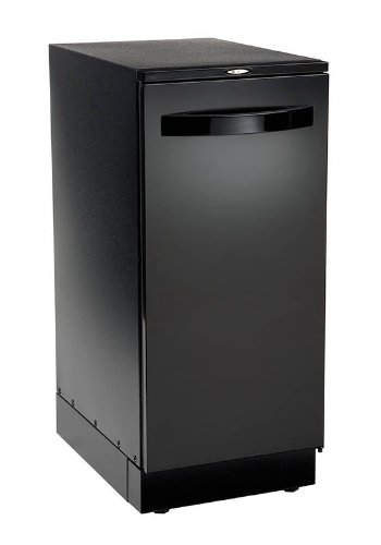 Broan-15BLEXF-15-220v-Elite-Black-Door-Trash-Compactor-0