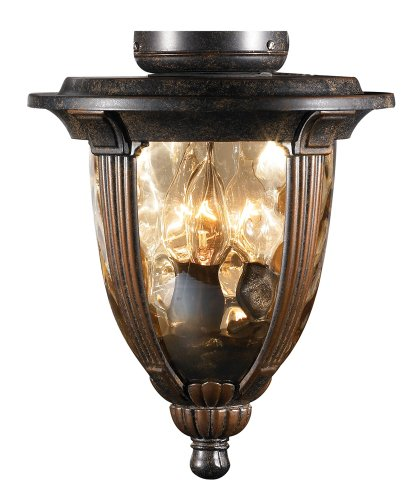 Bronze-Ceiling-Fan-Light-Kit-With-Amber-Hammered-Glass-0