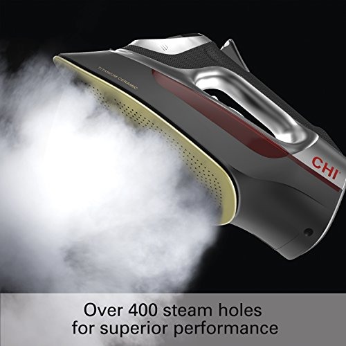 CHI-Professional-Steam-Iron-1700-Watts-with-Titanium-Infused-Ceramic-Soleplate-Over-300-Steam-Holes-13101-0-0