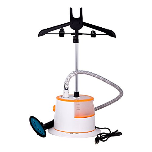 CO-Z-Large-Water-Tank-Fast-Steaming-Garment-Clothes-Stand-Fabric-Steamer-with-Garment-Hanger-and-Fabric-Brush-0