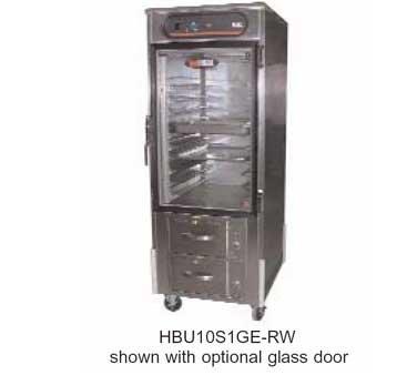 Carter-Hoffmann-hotLOGIX-Heated-Holding-CabinetwDrawer-Warmer-Logix8-Series-full-height-HL8-10-RW-0