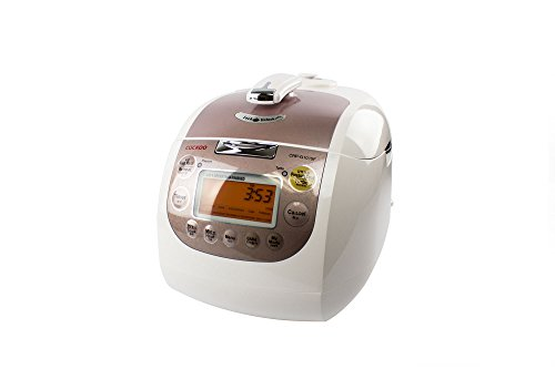 Click-to-open-expanded-view-Cuckoo-CRP-G1015F-10-Cup-Electric-Pressure-Rice-Cooker-110v-Pink-0-0