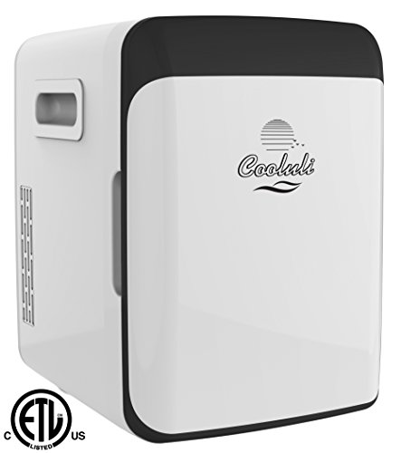 Electric Can Cooler ~ Cooluli electric mini fridge cooler and warmer liter
