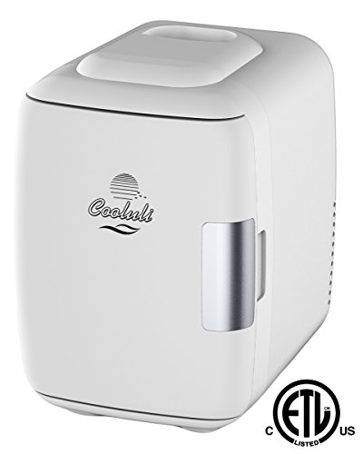 Cooluli-Mini-Fridge-Electric-Cooler-and-Warmer-4-Liter-6-Can-ACDC-Portable-Thermoelectric-System-w-Exclusive-On-the-Go-USB-Power-Bank-Option-0