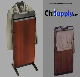 Corby-7700-3-Cycle-Pants-Press-with-Automatic-Shut-Off-and-Manual-Cancel-Options-Walnut-Finish-0