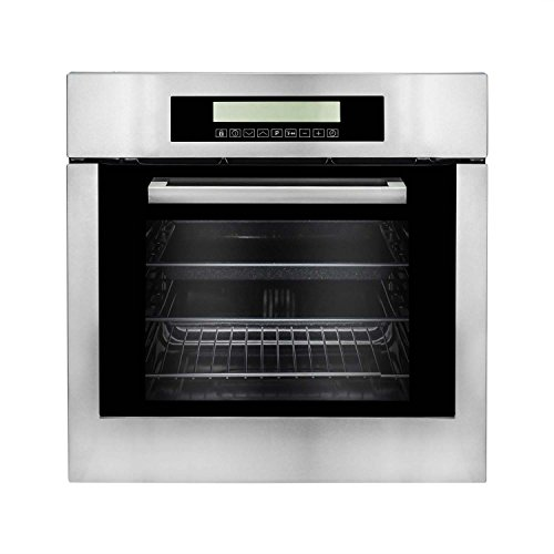 Cosmo-C106SIX-PT-24-in-Single-Wall-Self-Cleaning-Electric-Convection-Oven-in-Stainless-Steel-0-0