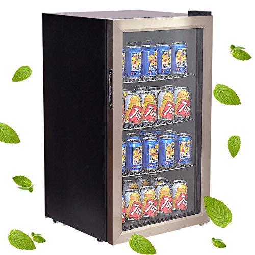 Costway-120-Can-Beverage-Refrigerator-Beer-Wine-Soda-Drink-Beverage-Cooler-Mini-Fridge-0-0