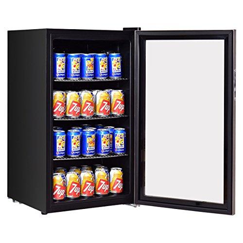 Costway-120-Can-Beverage-Refrigerator-Beer-Wine-Soda-Drink-Beverage-Cooler-Mini-Fridge-0-1