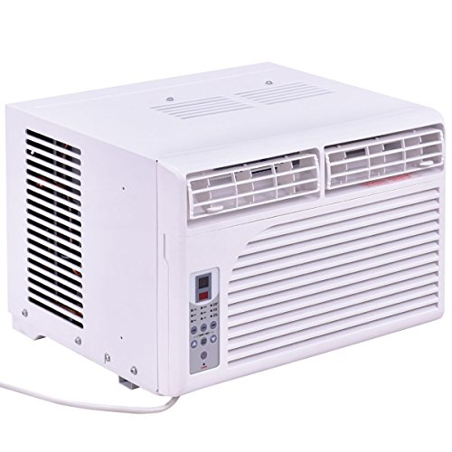 Costway-Cold-Air-Conditioner-Window-Mounted-Compact-w-Remote-Control-115V-White-0-0