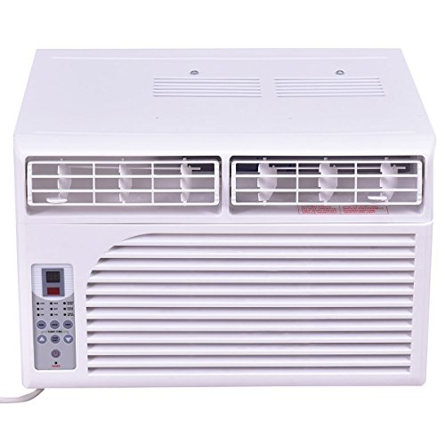 Costway-Cold-Air-Conditioner-Window-Mounted-Compact-w-Remote-Control-115V-White-0