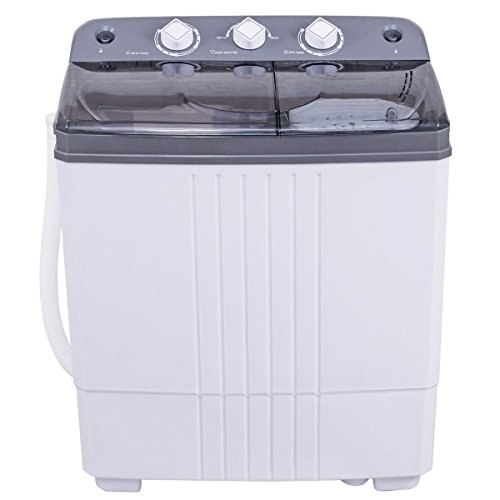 Costway-Mini-Portable-Compact-Twin-Tub-16Lbs-Washing-Machine-And-Washer-Spin-Cycle-w-Hose-0-0