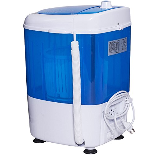 Costway-Portable-Mini-Compact-55lbs-Counter-Top-Washing-Machine-w-Spin-Cycle-Basket-0-1