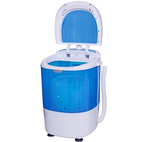 Costway-Portable-Mini-Compact-55lbs-Counter-Top-Washing-Machine-w-Spin-Cycle-Basket-0-2