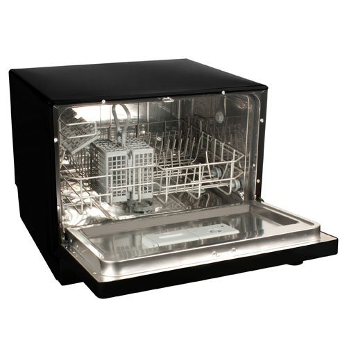 Countertop-Dishwasher-Premium-Portable-Stainless-Steel-Black-Electric-Stand-Alone-Compact-Design-0-0