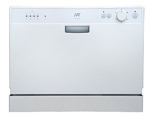 Countertop-Dishwasher-Premium-Portable-Stainless-Steel-Electric-Table-Top-Machine-in-Stand-Alone-Silver-Compact-with-Delay-Start-Design-0-0