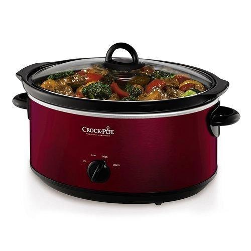 Crock-Pot-7-qt-Slow-Cooker-RED-0