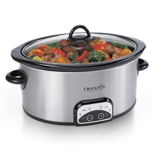Crock-pot-Sccpvp700-s-a-wm1-Smart-pot-7-quart-Slow-Cooker-Brushed-Stainless-St-by-Rice-Cookers-0