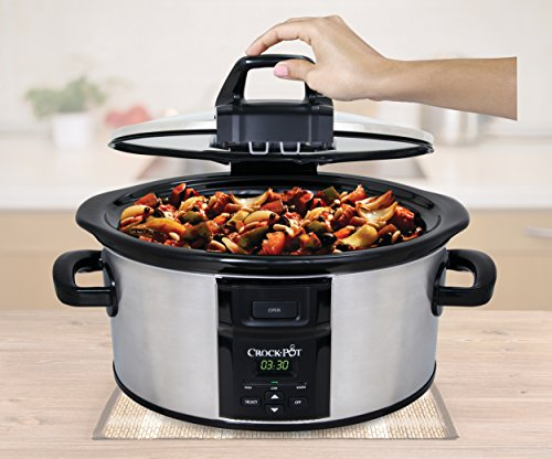 Crockpot-SCCPVC600LH-S-Lift-Serve-Locking-Hinged-Lid-Slow-Cooker-6-quart-Stainless-Steel-0-1