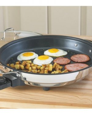 Ceramic Coated Electric Fry Pan