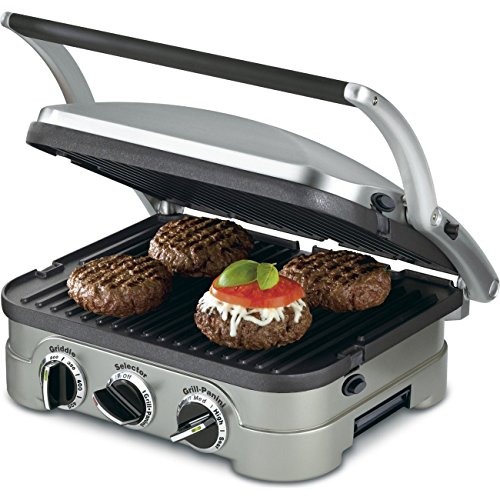 Cuisinart-5-in-1-Grill-Griddler-Panini-Maker-Bundle-with-Waffle-Attachment-GR-4N-Includes-Grill-and-Waffle-Plates-0-1
