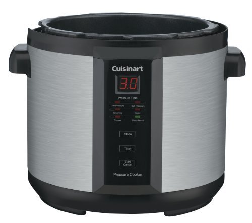 Cuisinart-CPC-600AMZ-1000-Watt-6-Quart-Electric-Pressure-Cooker-Brushed-Stainless-and-Matte-Black-0-1