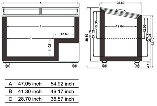 DUURA-DVFD106-Flat-Glass-Display-Freezer-White-0-0