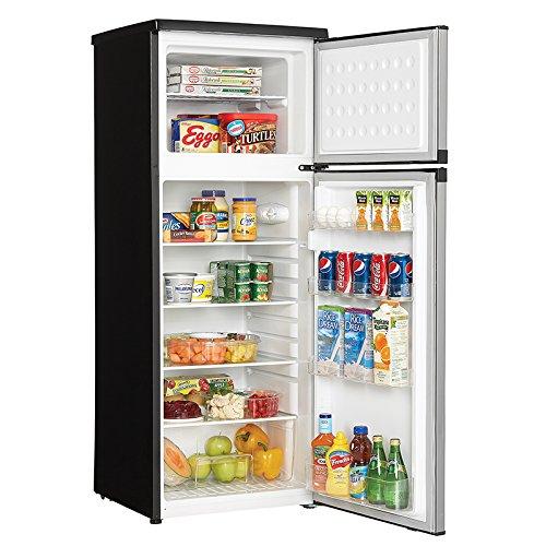 Danby-DPF073C1BSLDD-Designer-73-cuft-Two-Door-Apartment-Size-Refrigerator-Steel-0-1