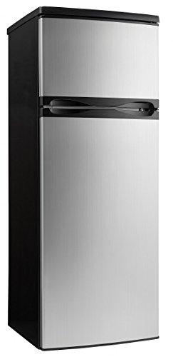 Danby-DPF073C1BSLDD-Designer-73-cuft-Two-Door-Apartment-Size-Refrigerator-Steel-0