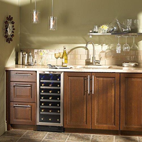 Danby-DWC1534BLS-37-Cu-Ft-34-Bottle-Silhouette-Wine-Cooler-BlackStainless-0-1